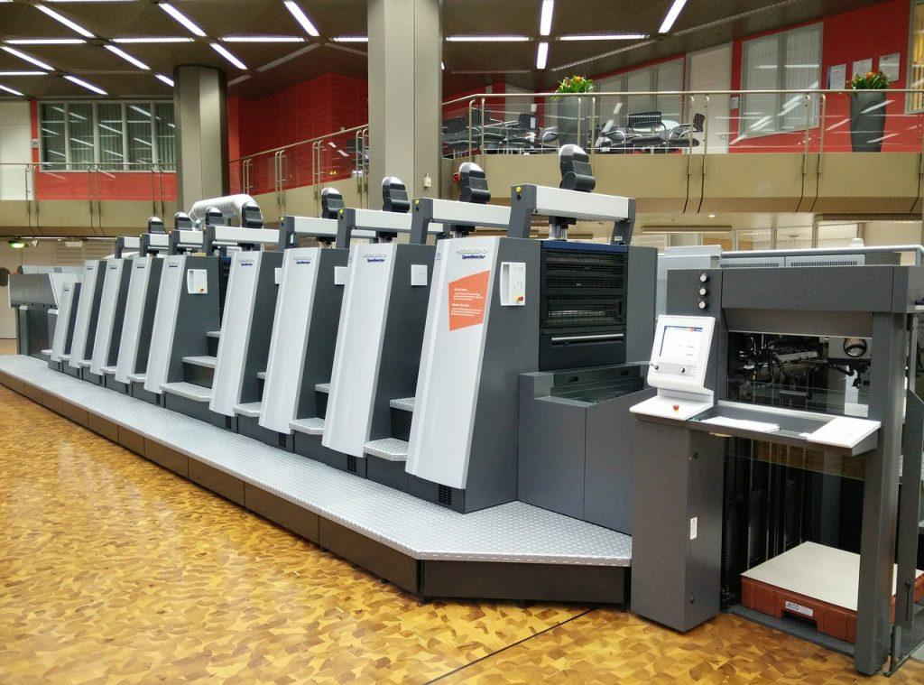 press, machine, printing